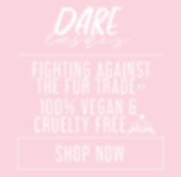 Cruelty free vegan lashes silk faux mink pink girly hearts