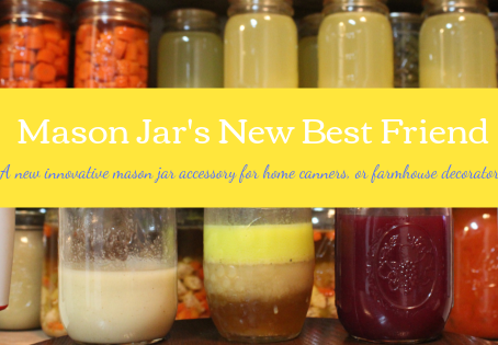 Mason Jar's New Best Friend!!