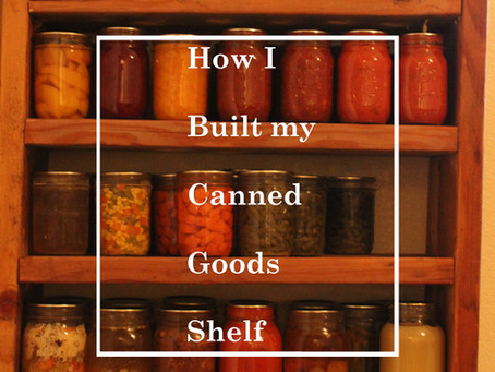 Apartment Homestead: Setting up a food store.
