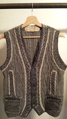 Gilet Sweater Grey - Unique Piece