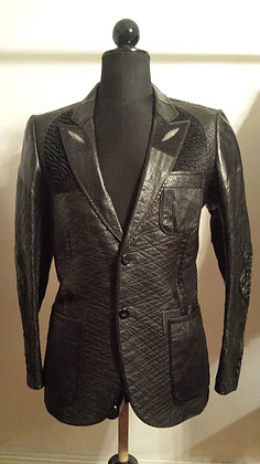 Grammy Award Leather Blazer