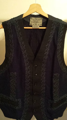 Gilet Sweater Dark Blue - Unique Piece