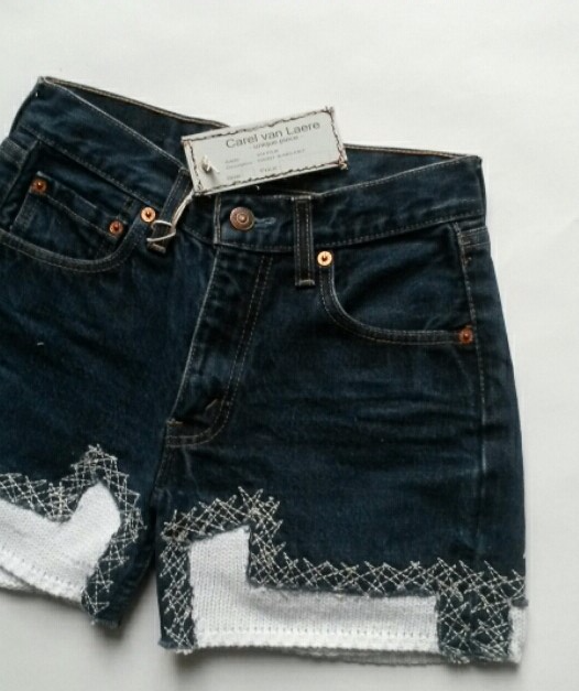 SUPER SHORT JEANS KNIT