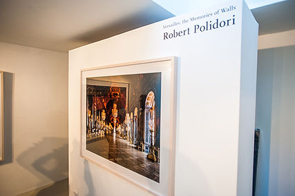 Versailles, the Memories of Walls by Robert Polidori, May - June 2014. Galerie Fontana.