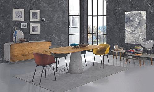 Real rektangulært bord