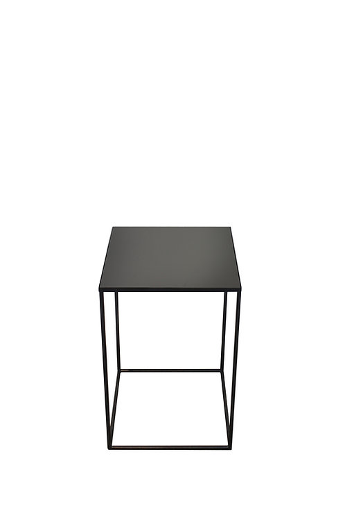 Charcoal Compact Side Table