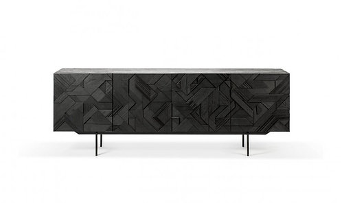Black Graphic Sideboard