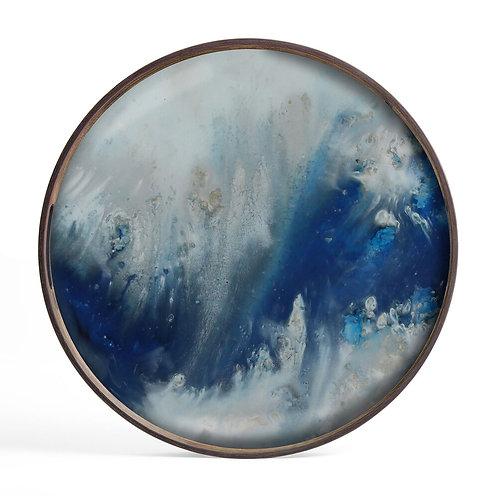 Blue Mist Organic glas bakke