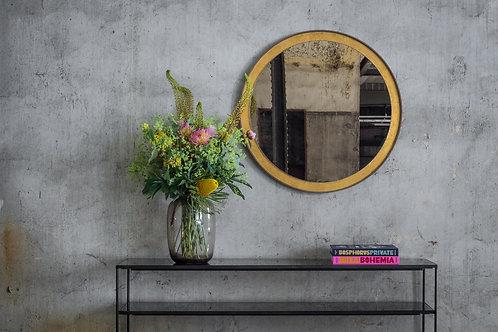 Gold Leaf rundt spejl