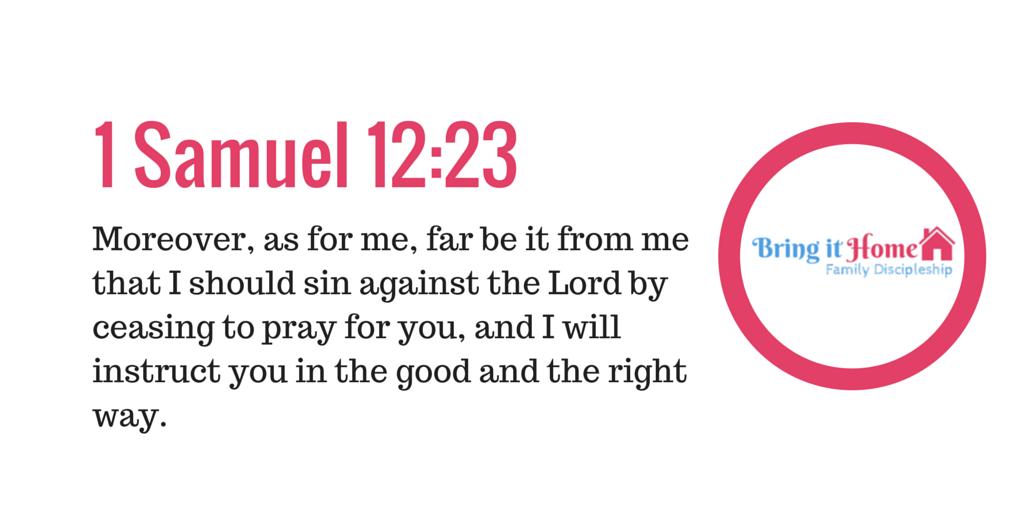 1 Samuel 12-23