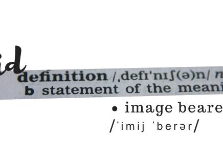 Kid Definition: Image Bearer