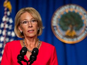 NAACP Sues U.S. Education Secretary Over COVID-19 School Money