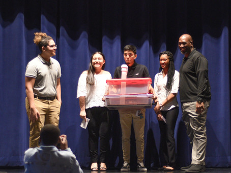 Belaire Magnet High School Hosts 2nd Annual Shark Tank Competition