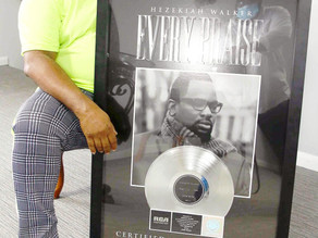 "Grammy-Award Winner Hezekiah Walker's Hit Single ""Every Praise"" Certified Platinum By RIAA"