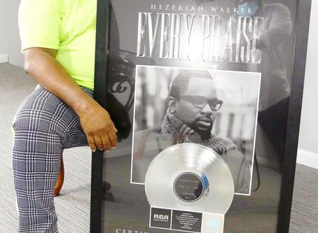 """Grammy-Award Winner Hezekiah Walker's Hit Single """"Every Praise"""" Certified Platinum By RIAA"""