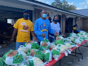 Medical Marijuana Company, Southern University and others partner for - Turkey Giveaway