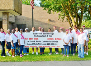 Wellness Walk and Talk Held In South Baton Rouge