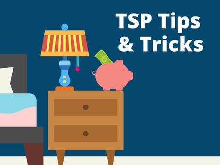 TSP Tips and Tricks