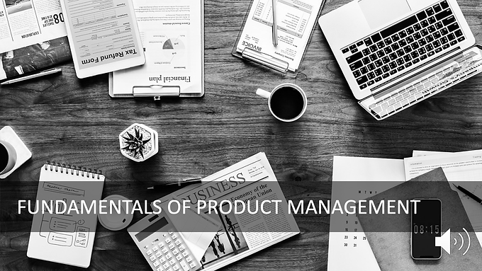 Fundamentals of Managing Products and Product Roles