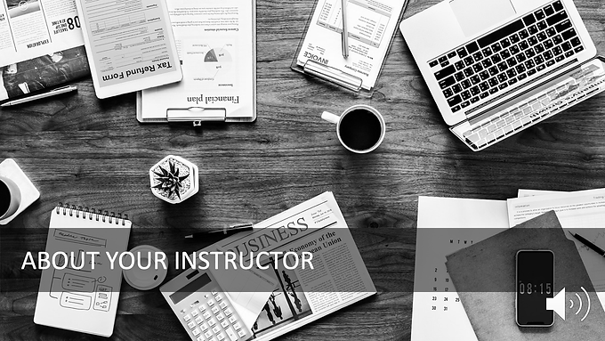 Introduction to Your Instructor