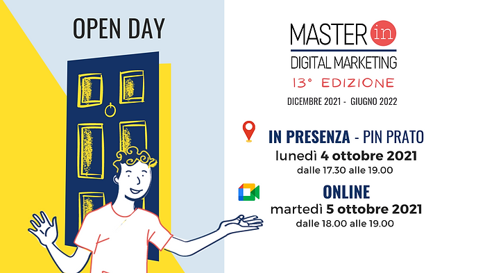 Master Digital Marketing 13° edizione
