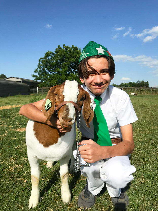 Dylan Cardey, McSwain 4-H