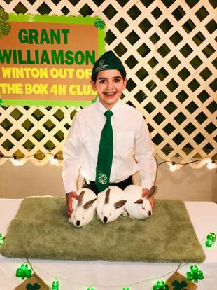 Grant Williamson, Winton 4-H
