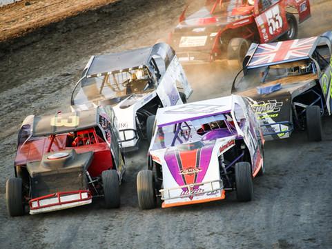 Merced Speedway Auto Racing