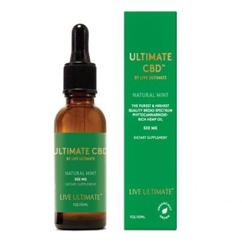 Ultimate CBD Natural Mint