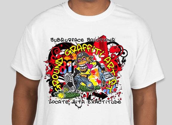 Ground Graffiti Artist T-Shirt