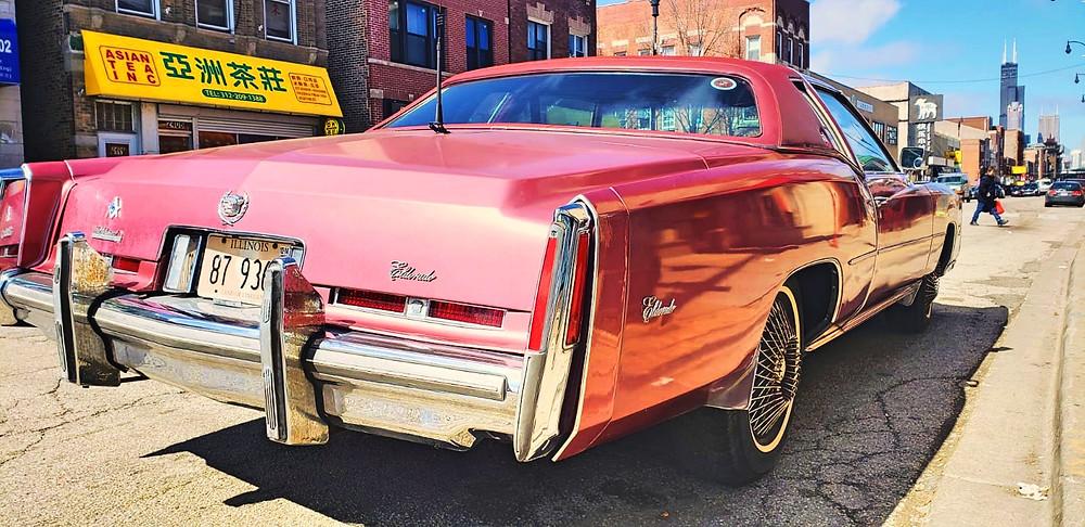 Cadillac Eldorado vyhraj ho právě ty!