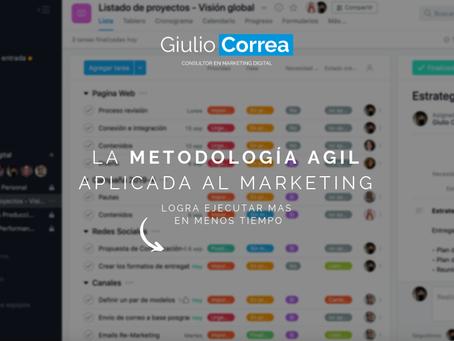 La metodologia Agil aplicada al Marketing