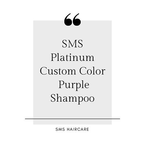 SMS Platinum Purple Shampoo