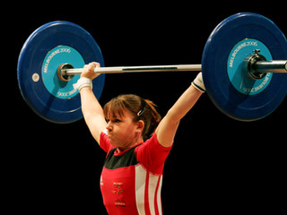 Snatching 60kg At The 2002 Commonwealth Games