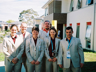 Welsh Weightlifting Team At The 2006 Commonwealth Games