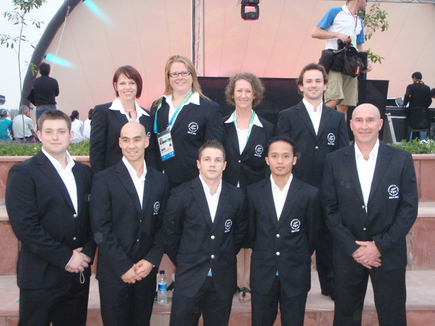 NZ Weightlifting Team, 2010 Commonwealth Games