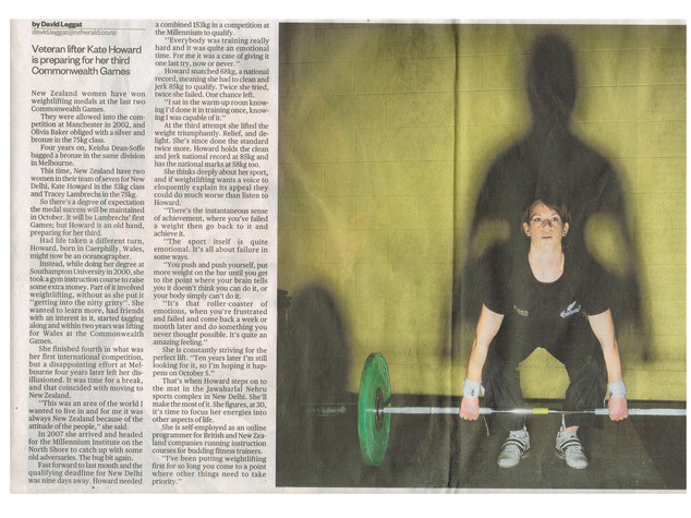 New Zealand Herald Interview