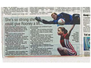 UK Newspaper Article