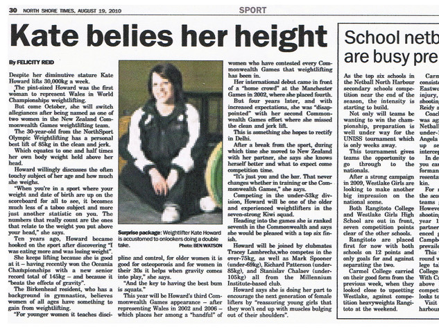 North Shore Times Interview