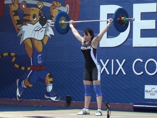 Snatching 70kg At The Commonwealth Games