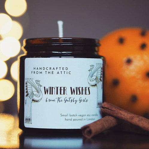 Winter Wishes Candle