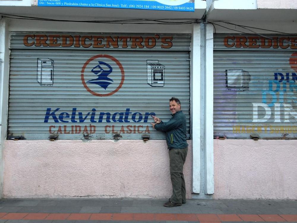 A shop named after Kelvin.