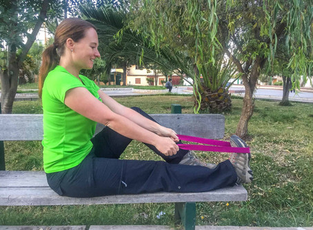 Suzie Says... Let's Talk About Ankle Sprains and Exercises