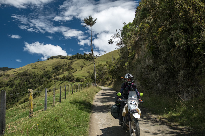 The back road to Ibague