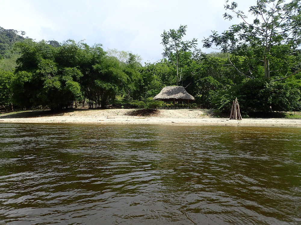 River beach
