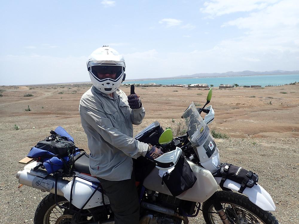 Kelvin LOVING playtime in the desert