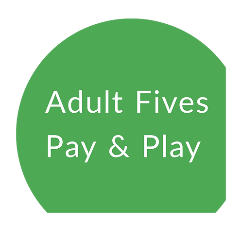 Fives Pay & Play Adult - Non-member session