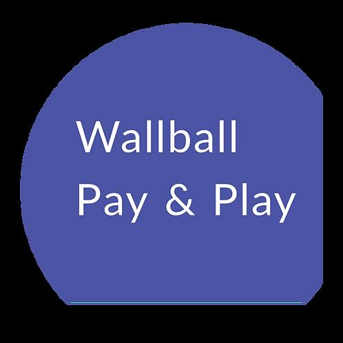 Wallball Social Club - Non-member session