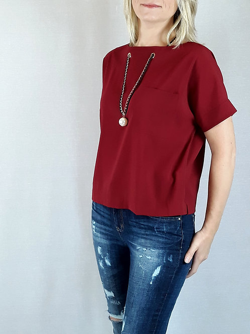 wine necklace attachment top