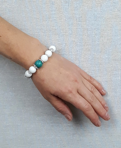 Starsign Inspired Bracelet We Made These Bracelets Specific To Match Each It S Stone Turquoise Suits A Pisces
